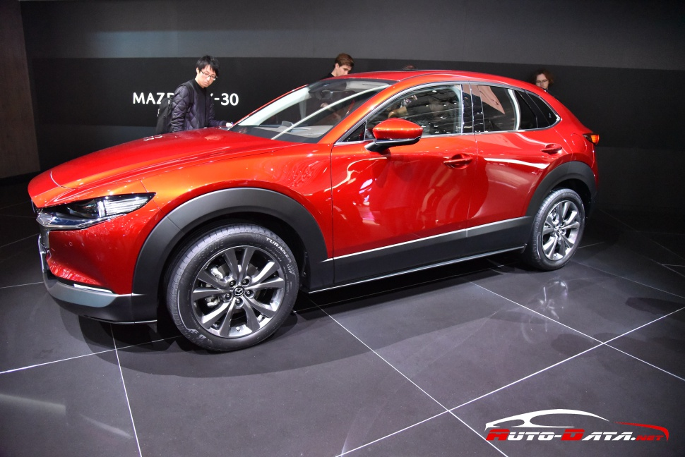 Mazda CX-30 at GIMS 2019 in Geneva