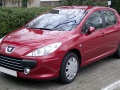 Peugeot 307 (facelift 2005) - Technical Specs, Fuel consumption, Dimensions
