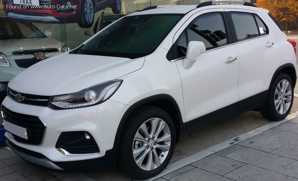 Chevrolet Trax Facelift 2017 14 140 Hp Automatic