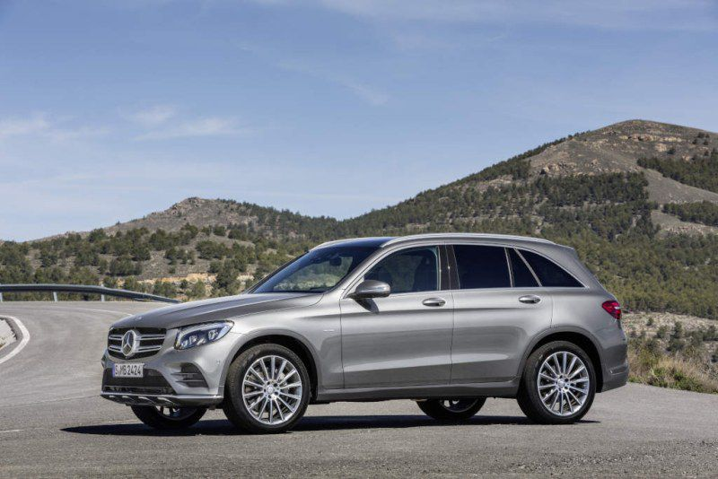 Mercedes-Benz GLC SUV (X253) GLC 220d (170 Hp) 4MATIC G-TRONIC - Technical Specs, Fuel consumption, Dimensions