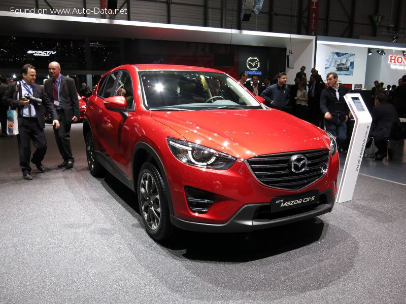 Mazda CX-5 (facelift 2015) 2.5i (192 Hp) 4x4 Automatic - Tekniske data, Forbruk, Dimensjoner