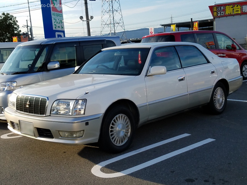 1997 Toyota Crown Majesta II (S150, facelift 1997) 3.0i V6 24V (220 Hp) Automatic | Technical specs, data, fuel consumption, Dimensions