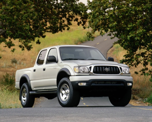 Toyota Tacoma I Double Cab (facelift 2000) 2.4 (142 Hp) 4WD Automatic - Fiche technique, Consommation de carburant, Dimensions