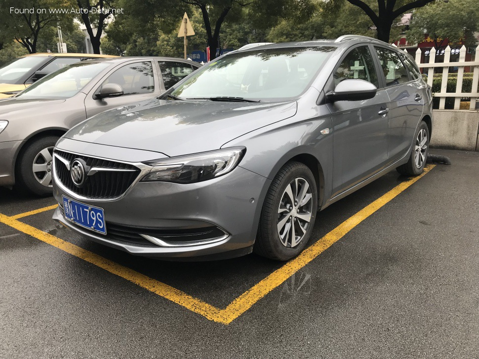 bilder: buick - excelle iii (facelift 2018) station wagon 1/2