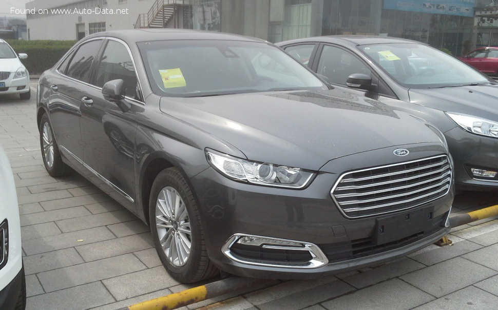 Ford Taurus (China) EcoBoost 325 V6 (329 Hp) - Tekniske data, Forbruk, Dimensjoner