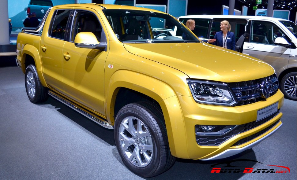 The 2016 facelift of VW Amarok Double cab