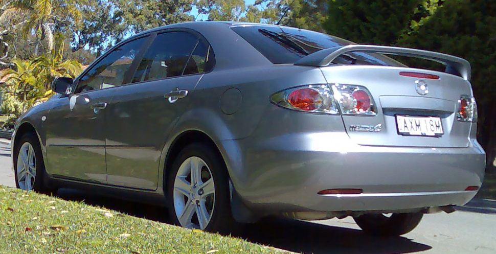 Mazda 6 I Hatchback (Typ GG/GY/GG1 facelift 2005) 2.3 (166 Hp) - Ficha técnica, Consumo, Medidas