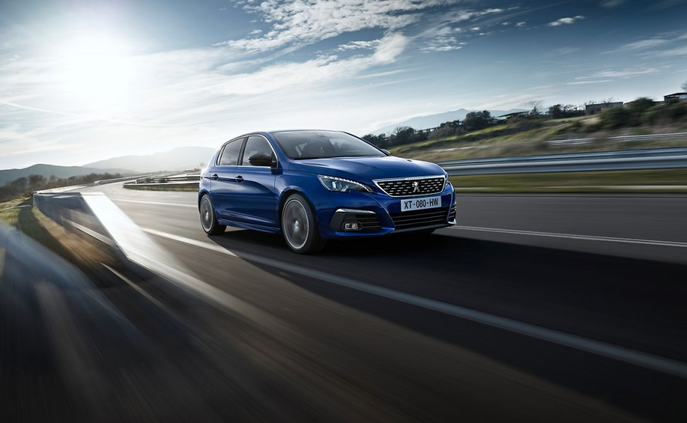The brand new Peugeot 308