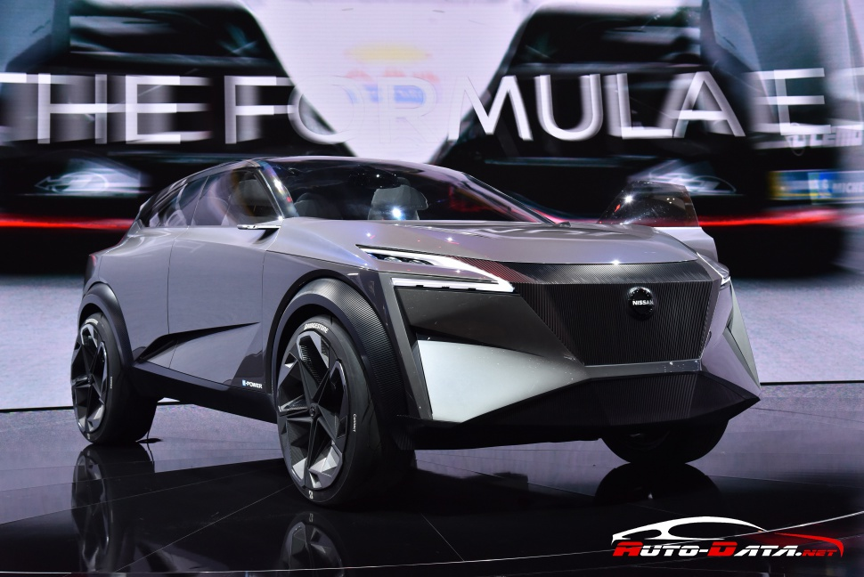 Nissan IMq concept at GIMS 2019