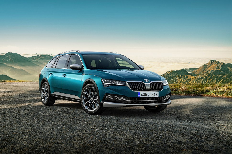 2019 Skoda Superb Scout - Photo 1