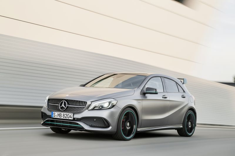 mercedes-benz - a-class - technical specifications, fuel economy