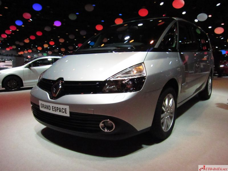 images of: renault - grand espace iv (phase iv) 1/2