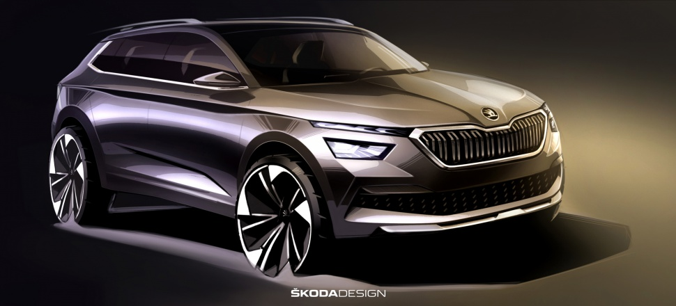 European Skoda Kamiq revealed at last