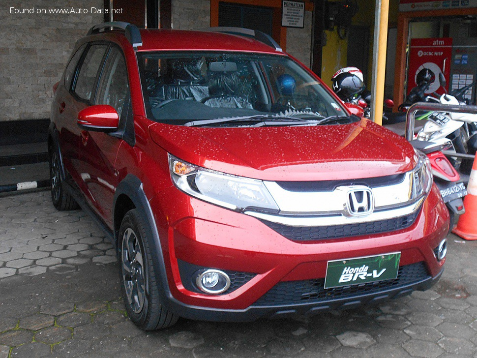 Honda BR-V 1.5 (119 Hp) CVT - Technical Specs, Fuel consumption, Dimensions