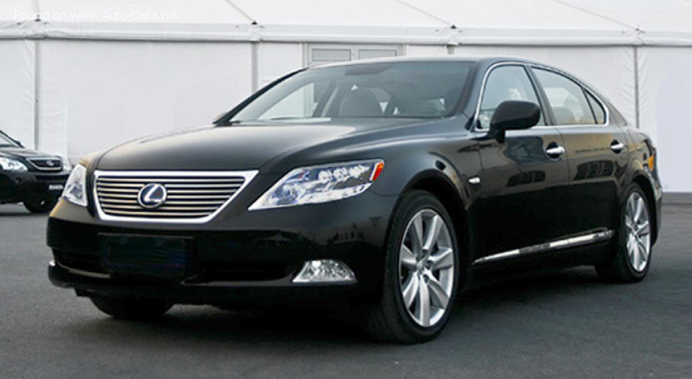 Lexus LS IV Long - Fiche technique, Consommation de carburant, Dimensions