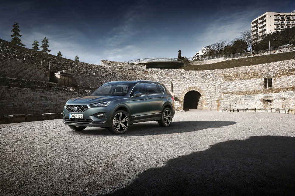 Seat Tarraco 2.0 TDI (150 Hp) DSG - Technical Specs, Fuel consumption, Dimensions