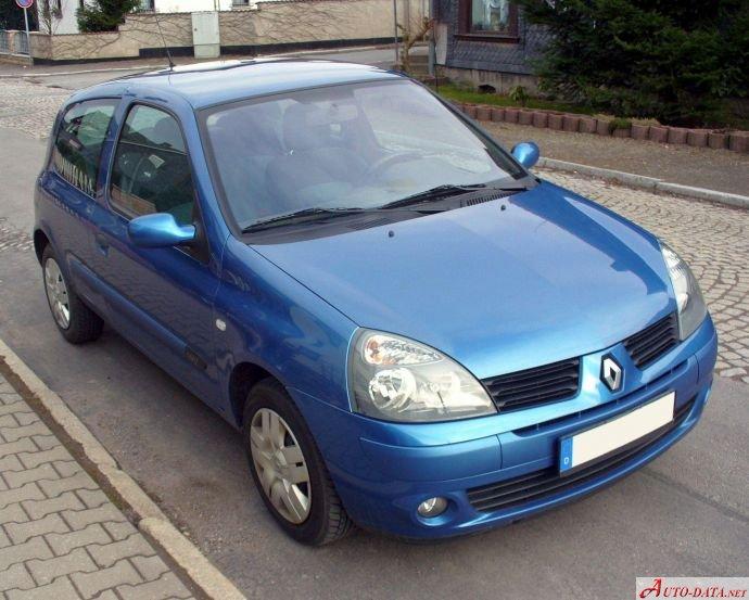 Renault Clio Ii 1 5 Dci  82 Hp
