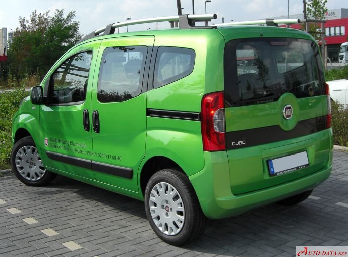 Fiat  Qubo  14 8V 77 Hp NATURAL POWER  Technical