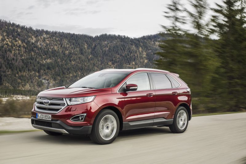 Ford Edge Dimensions >> Ford Edge Ii 2 0 Tdci 210 Hp Awd Powershift Technical