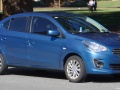 Technical specifications and fuel economy of Mitsubishi Mirage
