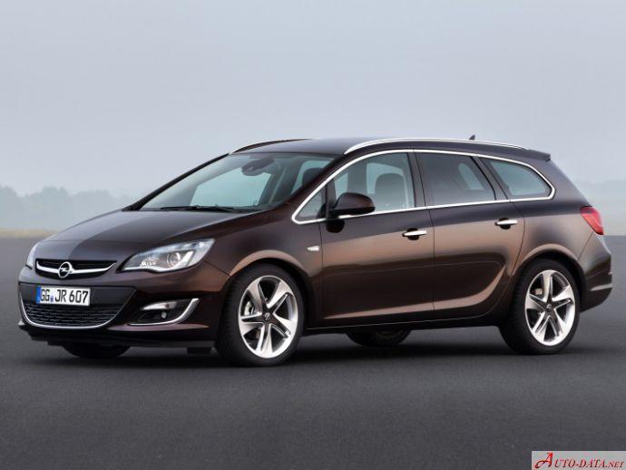 2012 Opel Astra J Sports Tourer Facelift 2012 2 0 Cdti 165 Hp Ecotec Automatic Technical Specs Data Fuel Consumption Dimensions