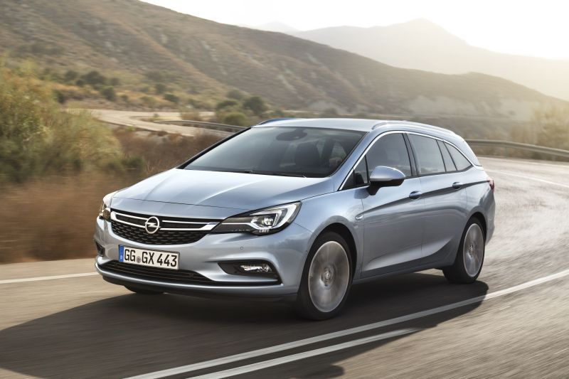 opel - astra - technical specifications, fuel economy (consumption)