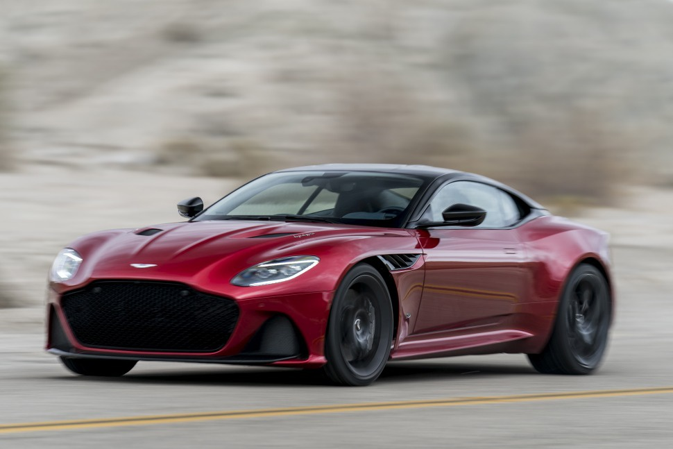 2018 Aston Martin Dbs Superleggera 5 2 V12 725 Ps Automatic Technische Daten Verbrauch Spezifikationen Maße
