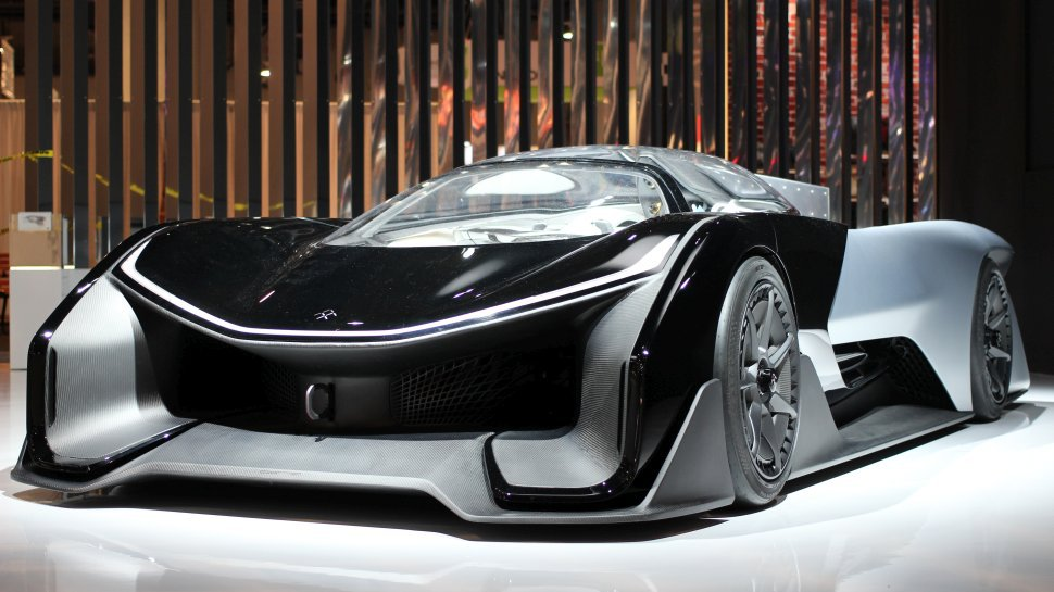 Faraday Future prototype debut