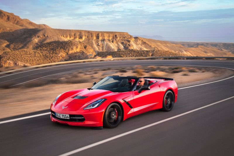Chevrolet Corvette Convertible (C7) ZR1 6.2 V8 (755 Hp) Automatic - Tekniske data, Forbruk, Dimensjoner