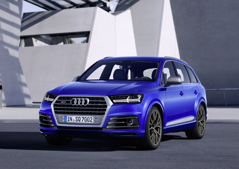 Audi Sq7 2016 4 0 Tdi V8 435 Hp Quattro Tiptronic Technical Specifications Fuel Economy Consumption