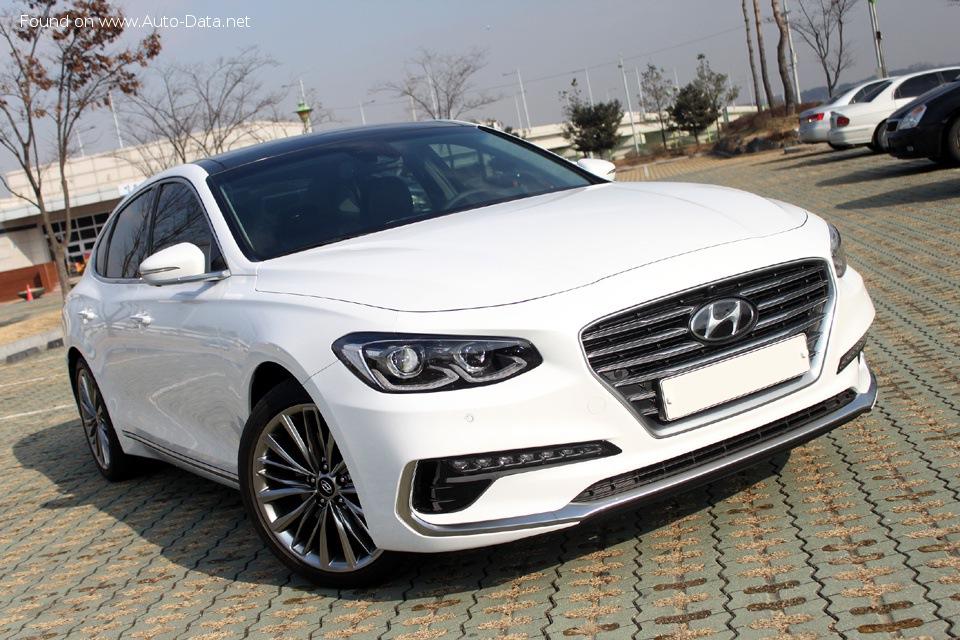 Hyundai Grandeur/Azera | Technical specifications, Fuel ...