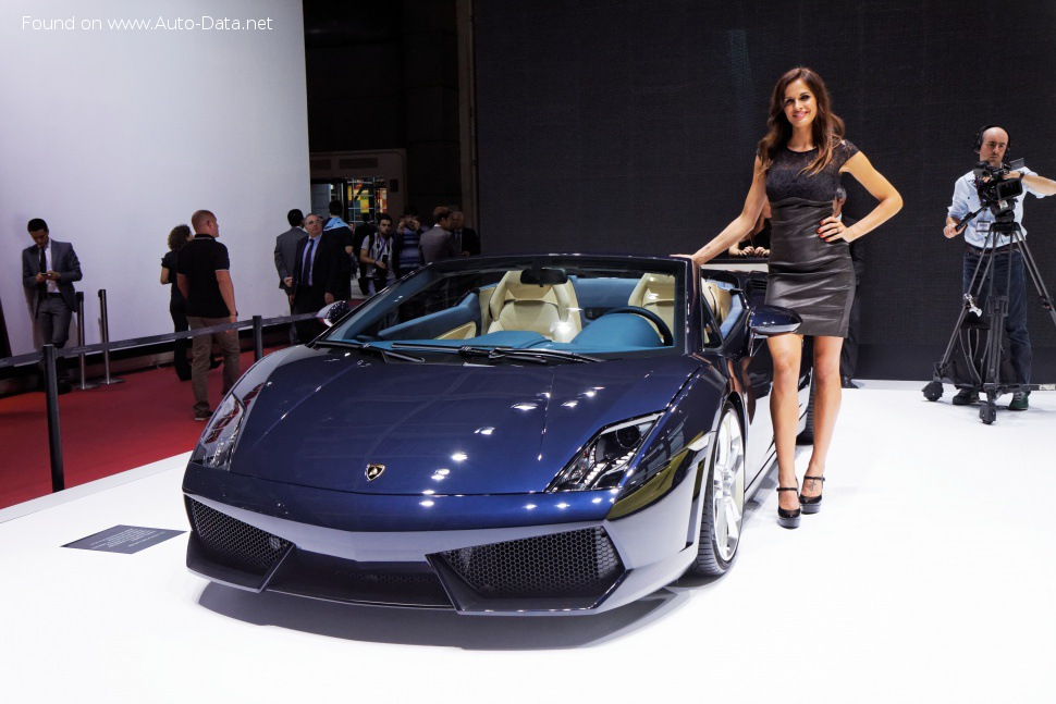 Lamborghini Gallardo Technical Specs Fuel Consumption Dimensions