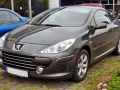 Peugeot 307 CC (facelift 2005) - Technical Specs, Fuel consumption, Dimensions