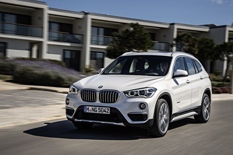 BMW X1 (F48) 25i (231 Hp) xDrive Steptronic - Technical Specs, Fuel consumption, Dimensions