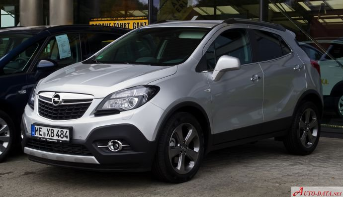 Opel Mokka 1.4 LPG (140 Hp) Turbo Ecotec - Fiche technique, Consommation de carburant, Dimensions