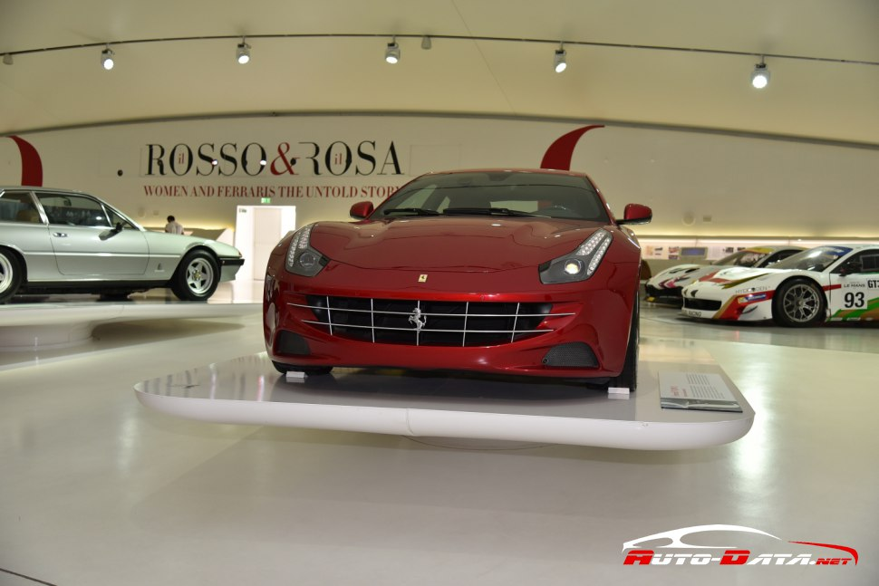 Ferrari FF exhibited at Enzo Ferrari's museum in Modena