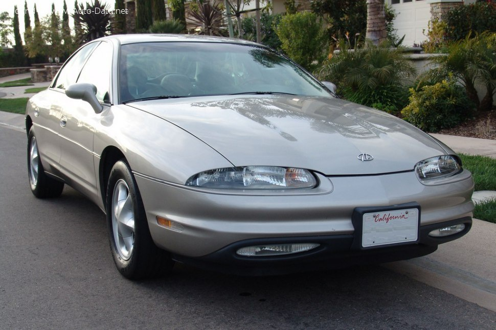1994 oldsmobile aurora i 4 0 v8 32v 253 hp technical specs data fuel consumption dimensions 1994 oldsmobile aurora i 4 0 v8 32v