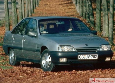 Opel Omega A 2.6i (150 Hp) Automatic - Fiche technique, Consommation de carburant, Dimensions
