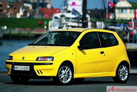 fiat punto ii 188 3dr 1 2 60 hp technical specs. Black Bedroom Furniture Sets. Home Design Ideas