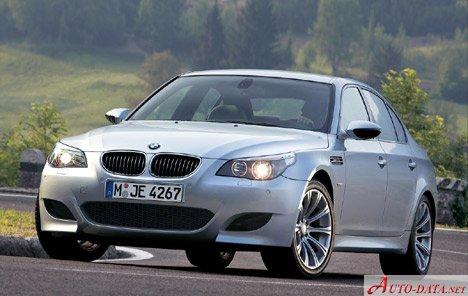 2005 Bmw M5 E60 5 0i V10 507 Hp Automatic Technical Specs Data Fuel Consumption Dimensions
