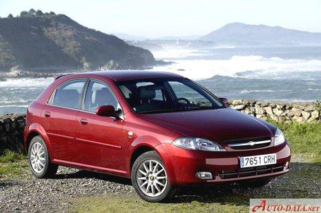 2004 Chevrolet Lacetti Hatchback 1 4 I 16v 95 Hp Technical