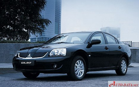 Mitsubishi Galant Technical Specifications Fuel Economy