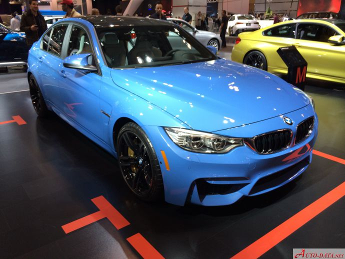 2016 Bmw M3 F80 Competition 3 0 450 Hp Technical Specs Data Fuel Consumption Dimensions