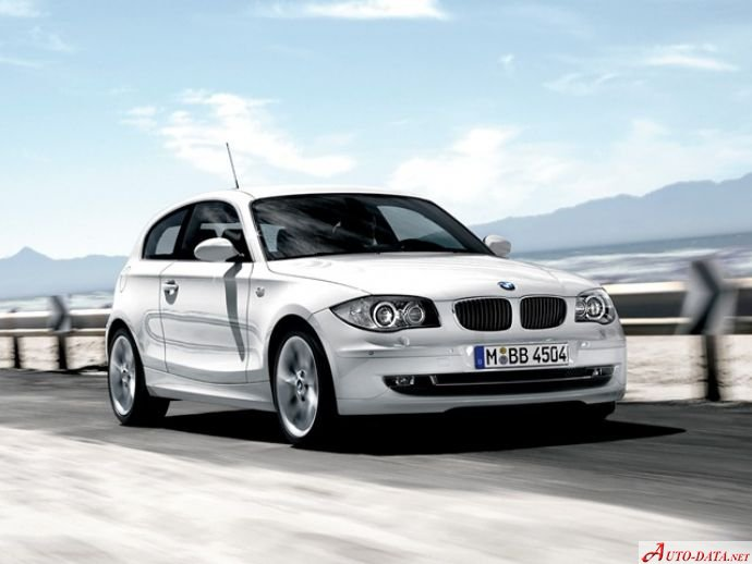 BMW 1 Series Hatchback 3dr (E81) 130i (258 Hp) Steptronic - Tekniske data, Forbruk, Dimensjoner