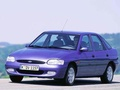 Ford - Escort VII Hatch (GAL,AFL) - 1.4 i (75 Hp)