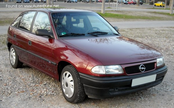 1994 Opel Astra F (facelift 1994) - Photo 1