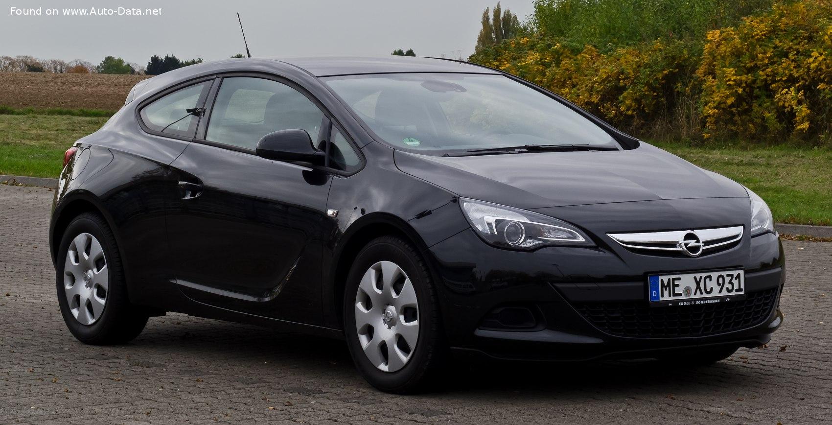 2011 Opel Astra J Gtc 1 6 180 Hp Turbo Ecotec Technical Specs Data Fuel Consumption Dimensions