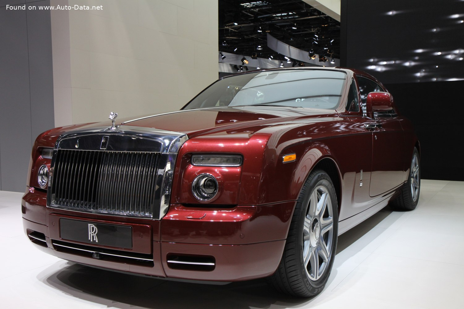 2008 Rolls Royce Phantom Coupe 6 75 I V12 460 Hp Automatic Technical Specs Data Fuel Consumption Dimensions