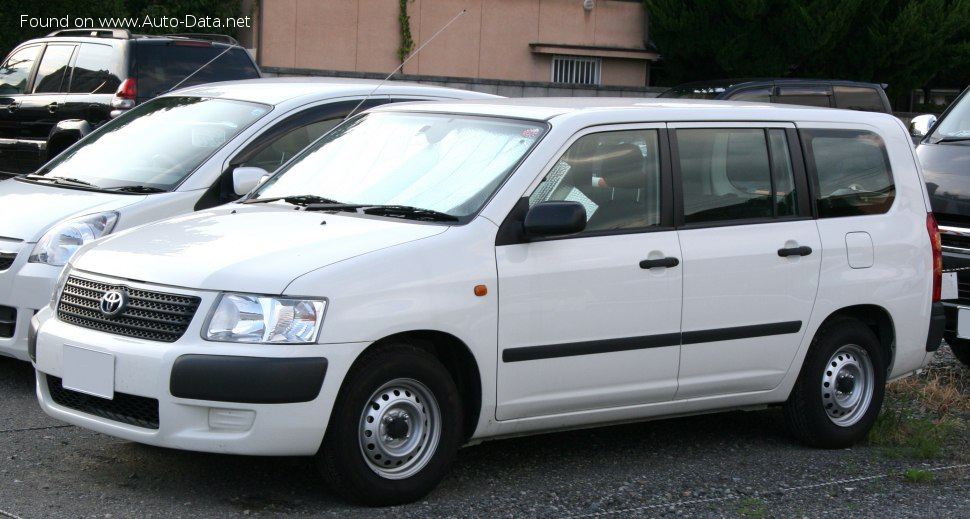 2002 Toyota Succeed - Kuva 1