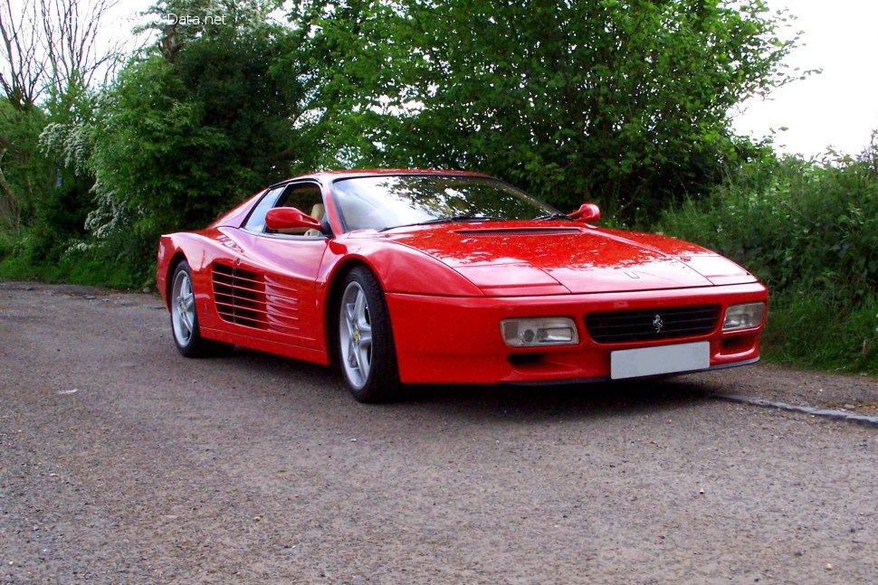 1992 Ferrari 512 Tr 4 9 I V12 48v 428 Ps Technische Daten Verbrauch Spezifikationen Maße